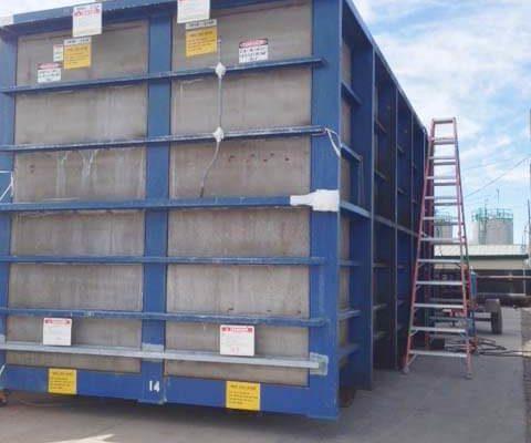 Kynar® PVDF Lined Plating Tank